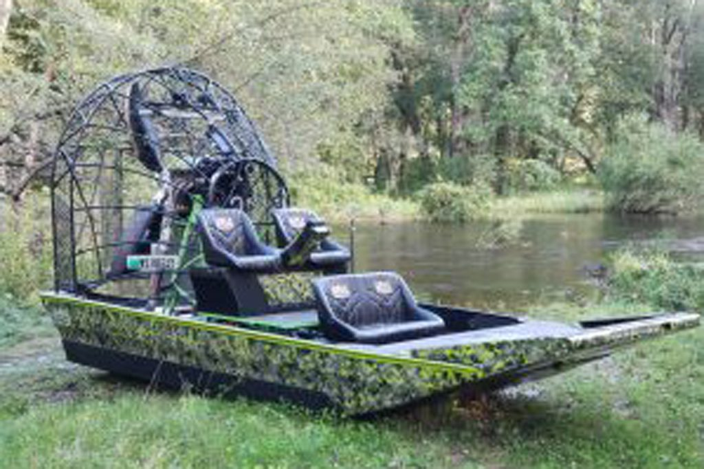 Custom Air Boat