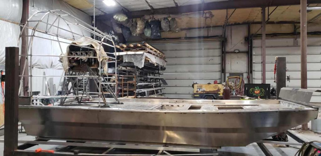 Gale Marine Custom Boat Build