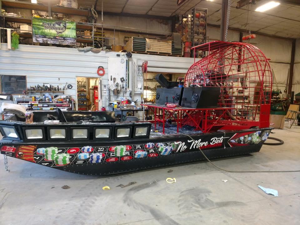 No More Bets Bowfishing Airboat